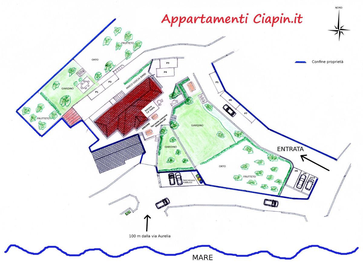 Mappa complessiva