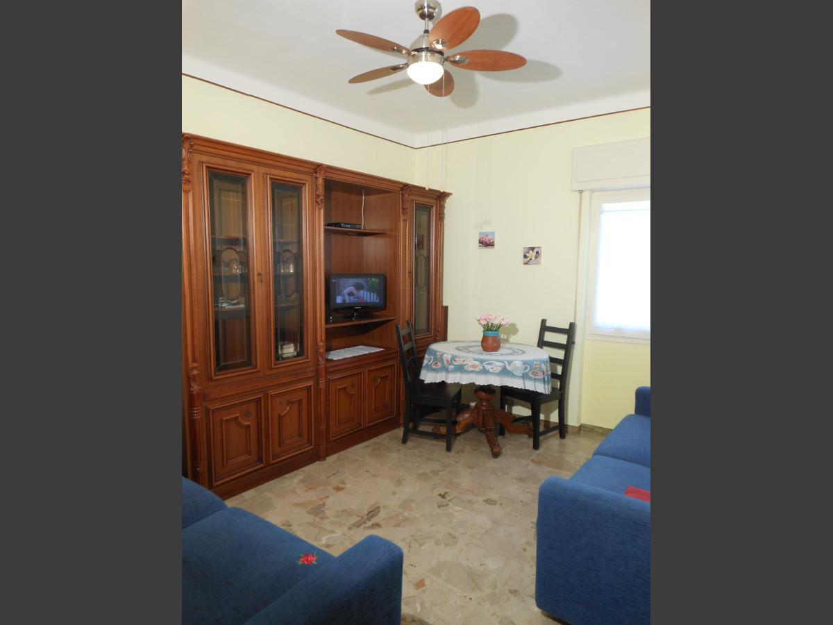 Sala (ventilatore a soffitto) appartamento Ca' Stella
