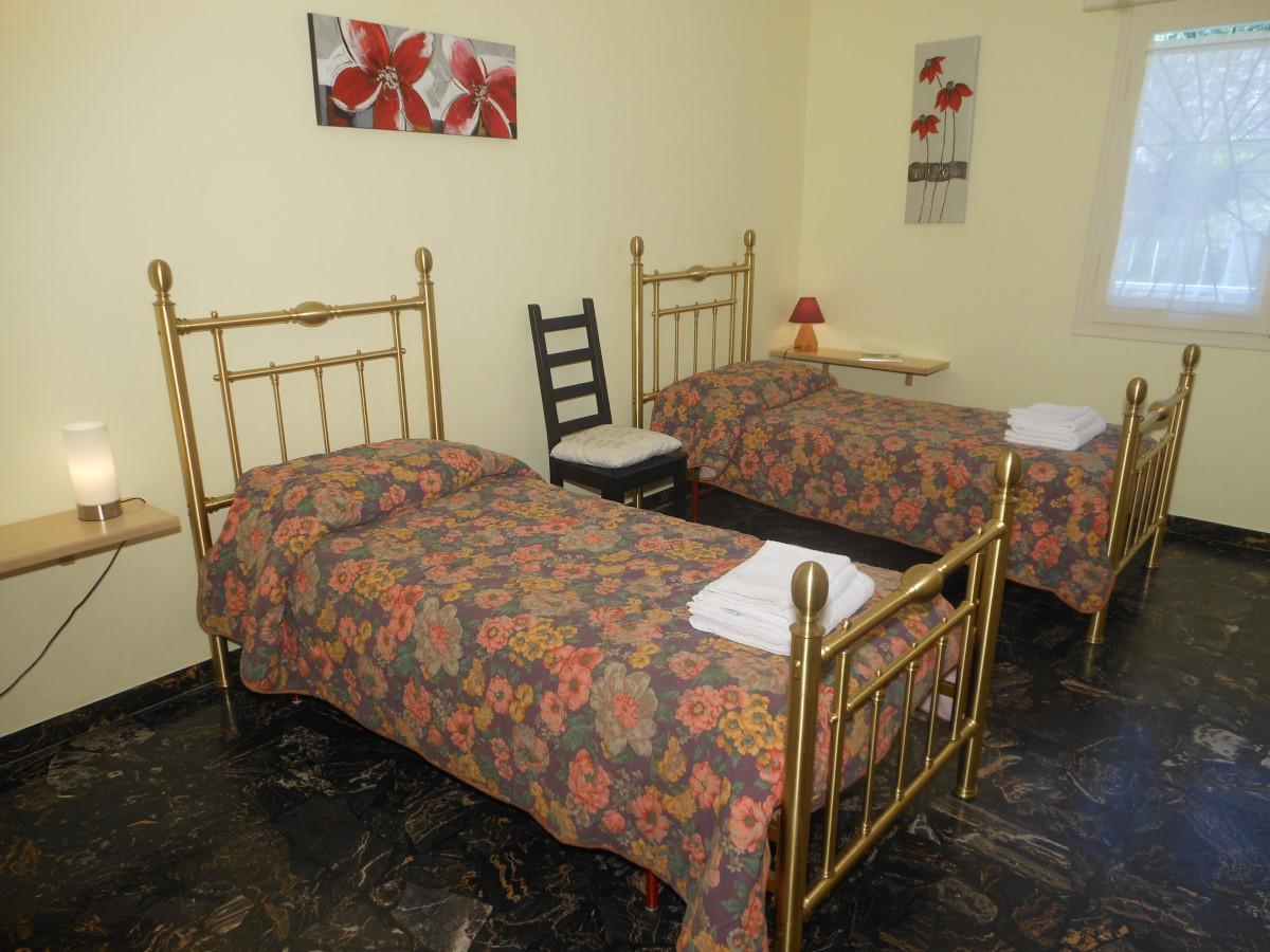 Camera da letto doppia appartamento Ca' Stella